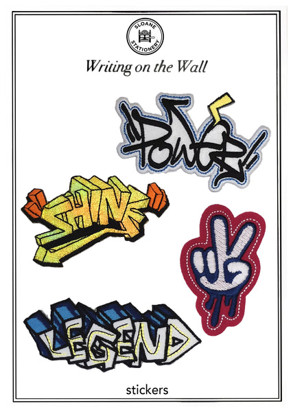 WRITING ON THE WALL - STICKERS