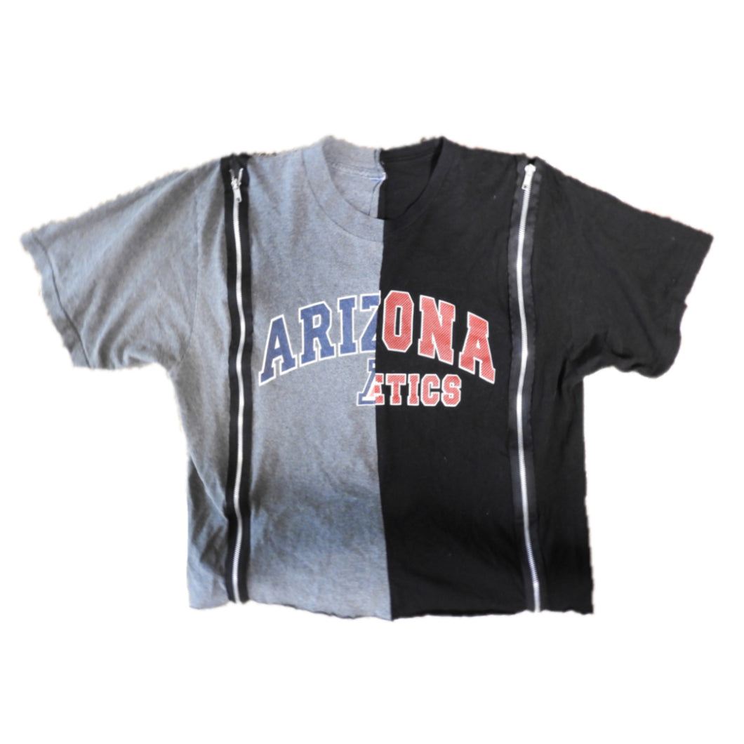 UNIVERSITY OF ARIZONA DOUBLE ZIP TEE