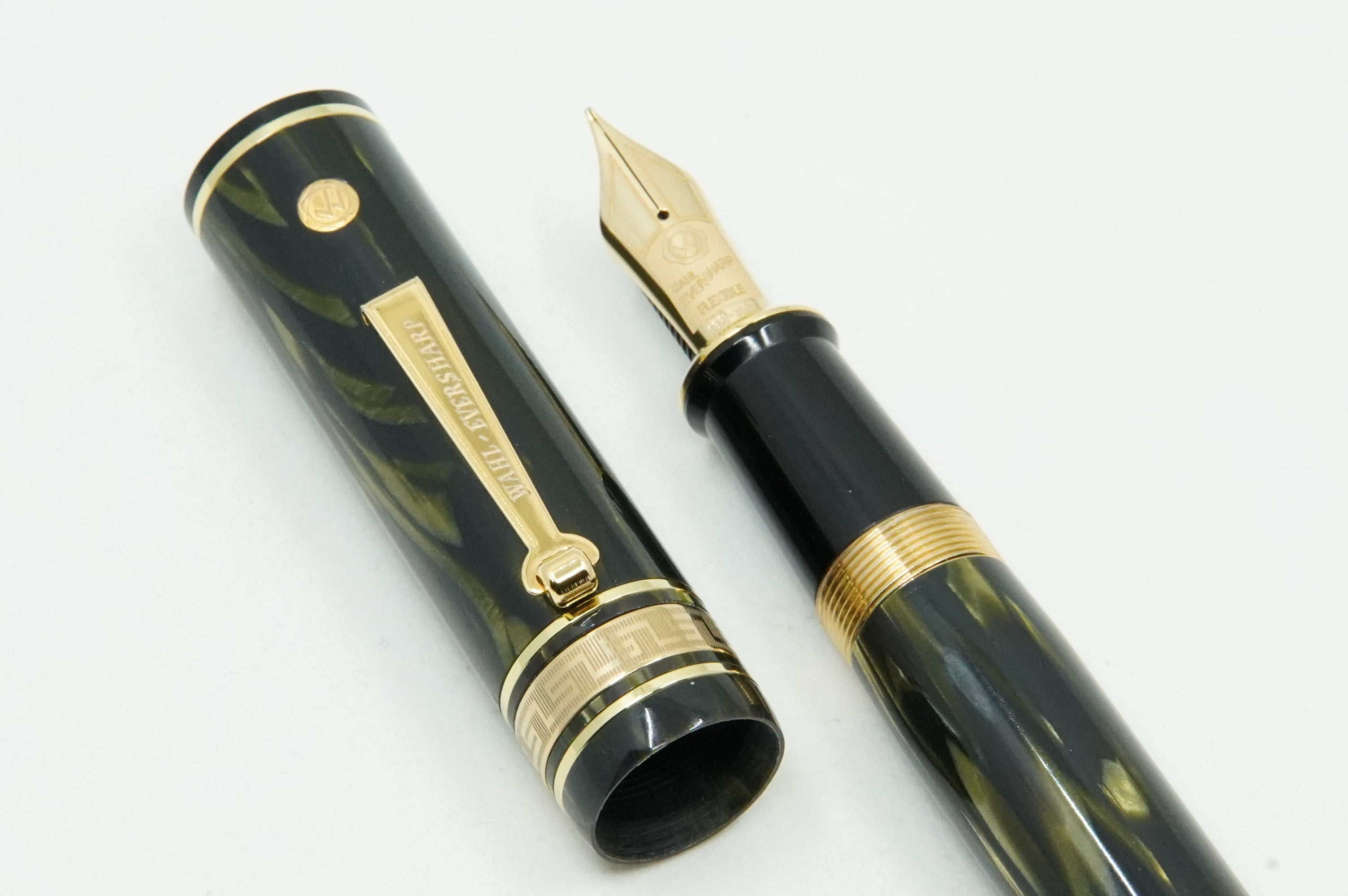 Wahl Eversharp Decoband FP GREEN SEAWEED  Limited edition of 66 pens