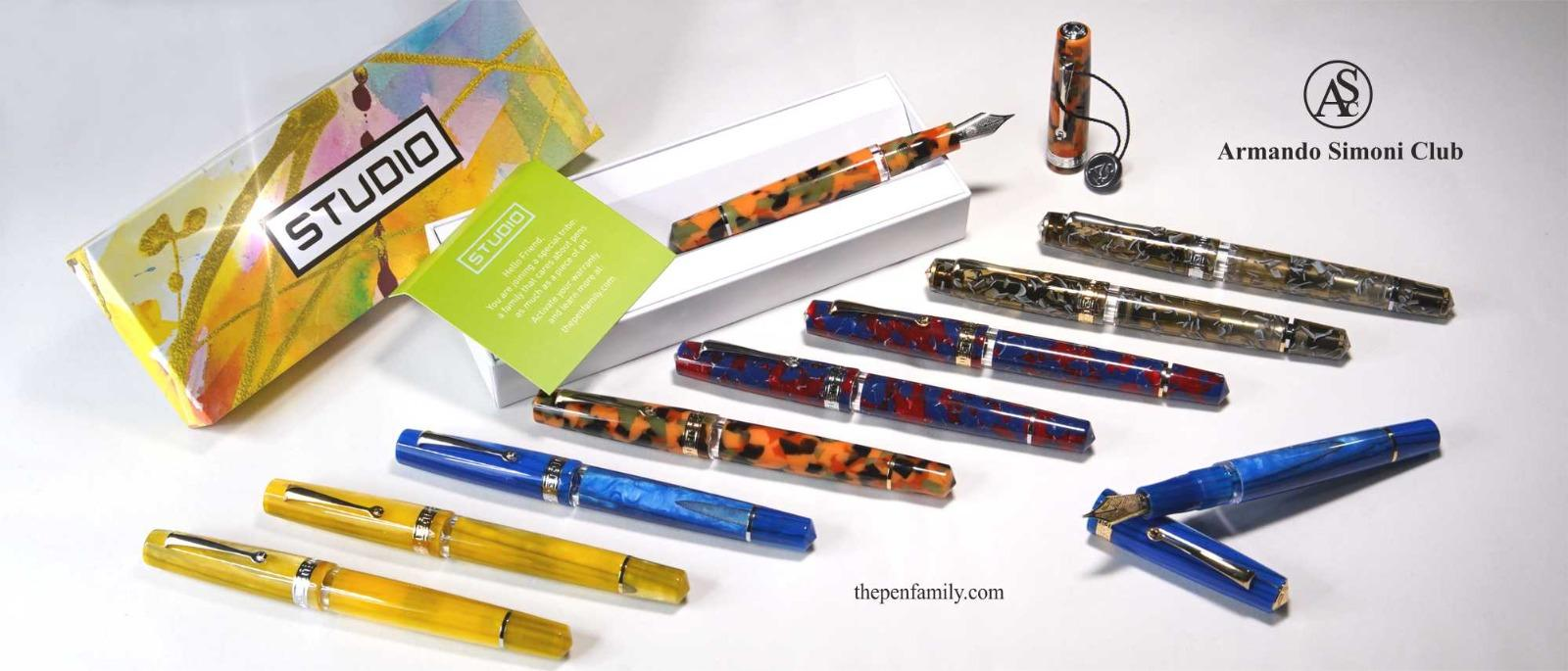 ASC STUDIO SET OF 5 PENS with 15% member discount
