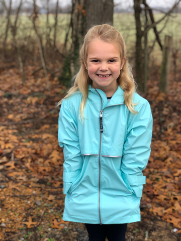 Girls' New Englander Charles River Rain Jacket