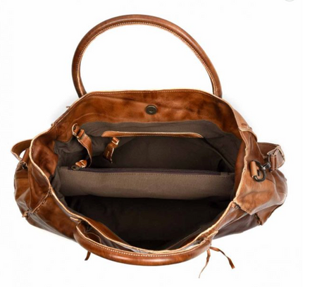 "Bed Stu ""Rockaway"" Handbag in Tan Rustic"