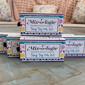 Mixologie Blendable Perfume Collection Tiny Try Me Kit