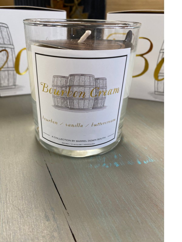Bourbon Cream Candle
