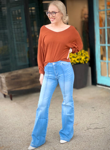 Vintage Bootcut Flare Jeans