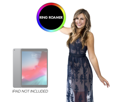 Ring Roamer V2 mobile iPad roaming Photo Booth