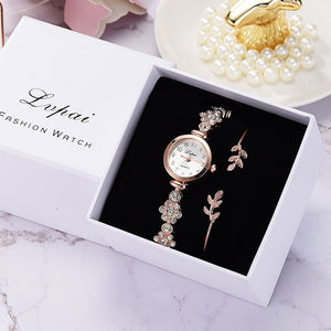 Luxury Women Bracelet Wristwatch Ladies