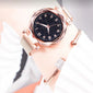Luxury Luminous Women Watches Starry Sky Magnetic Ladies