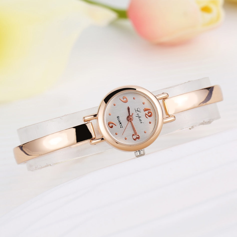 Luxury Watch Classic Gold Ladies