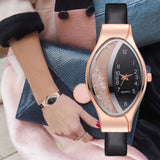 Fashion Luxury Watch Leather Strap