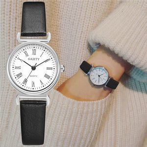 Exquisite Small Women Dress Watches Retro