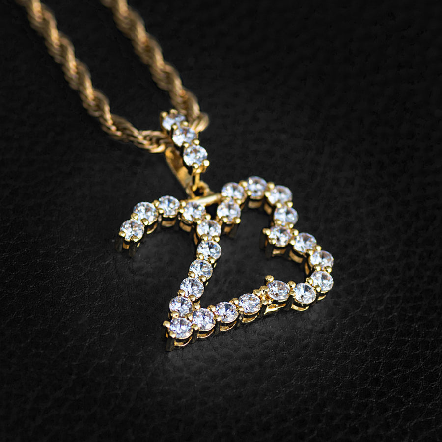 Custom Diamond Number Necklace
