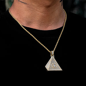 Baguette Pyramid Necklace
