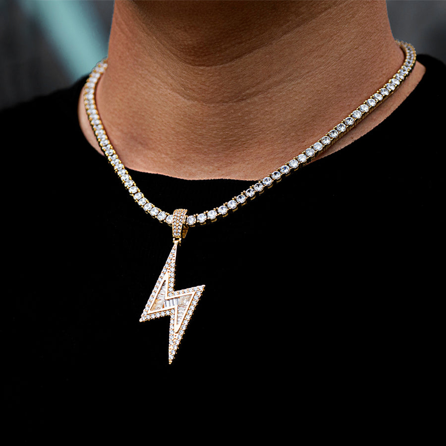 Iced Flash Lightning Bolt