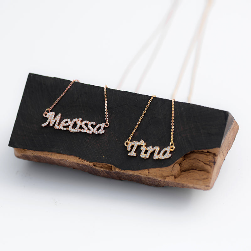 Custom Mini Name Necklace