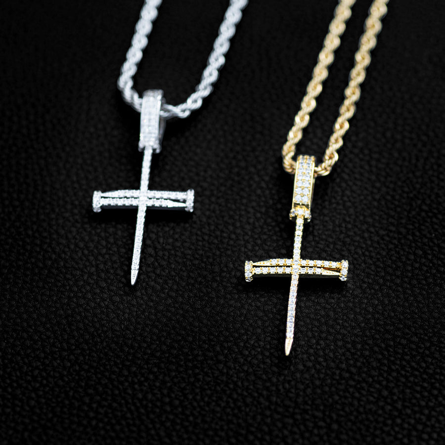 Nail Cross Pendant
