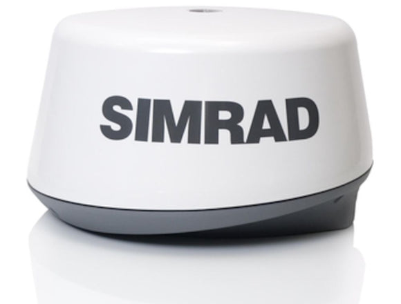 SIMRAD 3G BB RADAR KIT Compact and cost-effective FMCW dome radar system.