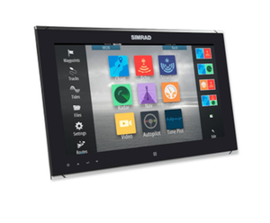 SIMRAD MO16-T Monitor 15.6-inch widescreen display with 1000-nit brightness and multi-touch control.