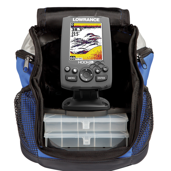 The Lowrance® HOOK-3x All Season Pack offers proven features at a great value without compromising the quality anglers have come to expect from Lowrance.