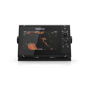 NSS7 evo3 7-inch display with GPS, sounder & Wi-Fi. Includes world basemap.