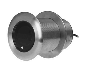 20° Tilt High CHIRP Through hull Depth/Temperature Transducer