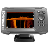 The world's easiest-to-use fishfinder, HOOK2-5 SplitShot features Autotuning sonar, High CHIRP, DownScan Imaging™
