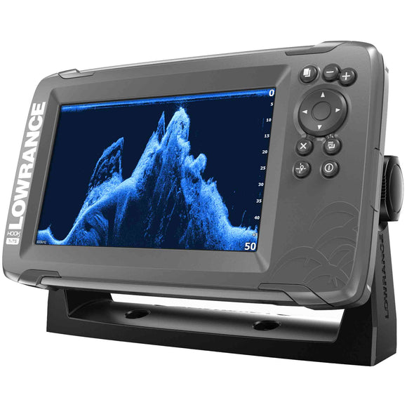 The world's easiest-to-use fishfinder, HOOK² 7x TripleShot features Autotuning sonar, Broadband sonar and DownScan Imaging™, plus a simple GPS Plotter -- all at a price that is easy to afford.