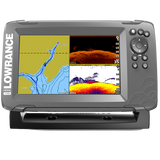 The world's easiest-to-use fishfinder, HOOK2-7 SplitShot features Autotuning sonar, High CHIRP and DownScan Imaging™