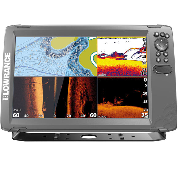 The world's easiest-to-use fishfinder, HOOK2 12 TripleShot features Autotuning sonar, High CHIRP, SideScan and DownScan Imaging™ -- all at a price that is easy to afford.