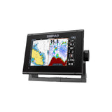 GO7 XSR ROW NO TRANSDUCER 7-inch chartplotter and radar display with global basemap.