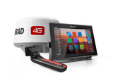 GO12 XSE WITH 4G RADAR & TOTALSCAN,ROW - 12-inch chartplotter and radar display with Broadband 4G™ radar and TotalScan™ transducer.