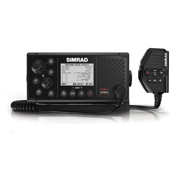 RS40-B VHF Radio - Fixed-mount DSC VHF Radio with integrated AIS transmitter and receiver, GPS, and wireless handset support.