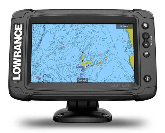 Lowrance® Elite-7 Ti² touchscreen, Active Imaging™ sonar, built-in C-MAP® Genesis Live real-time map creation, wireless networking and smartphone notifications – all at an affordable price.