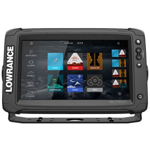 The Lowrance® Elite-9 Ti² offers popular premium features – like a touchscreen, Active Imaging™ sonar, built-in C-MAP® Genesis Live real-time map creation, wireless networking and smartphone notifications – all at an affordable price.