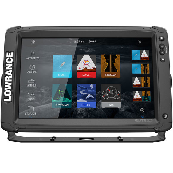 Lowrance® Elite-12 Ti² AUS/NZ cartography - no transducer