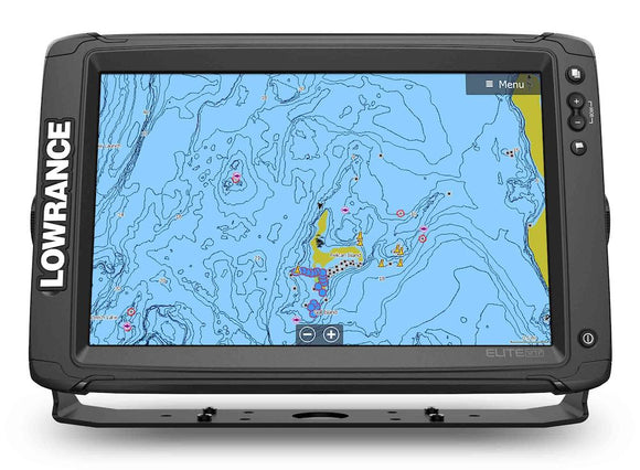 Lowrance® Elite-12 Ti² touchscreen, Active Imaging, built-in Genesis Live real-time map creation, wireless connectivity and smartphone notifications – all at an affordable price.