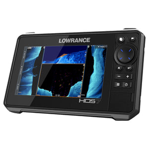 HDS-7 LIVE AUS/NZ AI 3-IN-1 - High-performance 7-inch display. Supports Active Imaging, SS3D and LiveSight sonar.