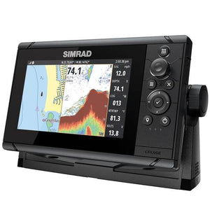 SIMRAD Cruise 7 with AUS/NZ Navionics+ Map and 83/200 Transducer.