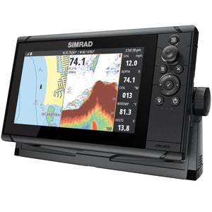Simrad CRUISE 9, ROW BASE CHART, 83/200 XDCR