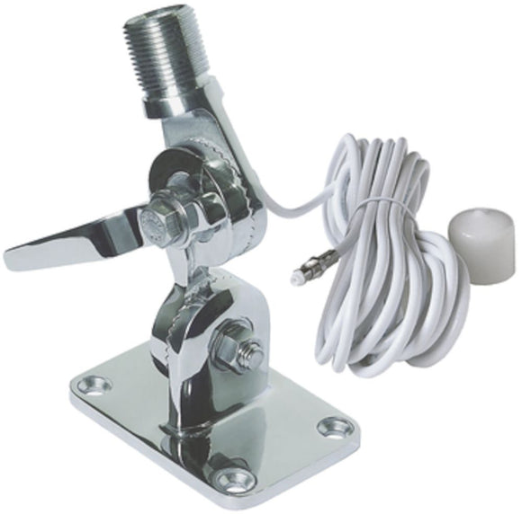 Stainless steel, quick-fit VHF Antenna Mount
