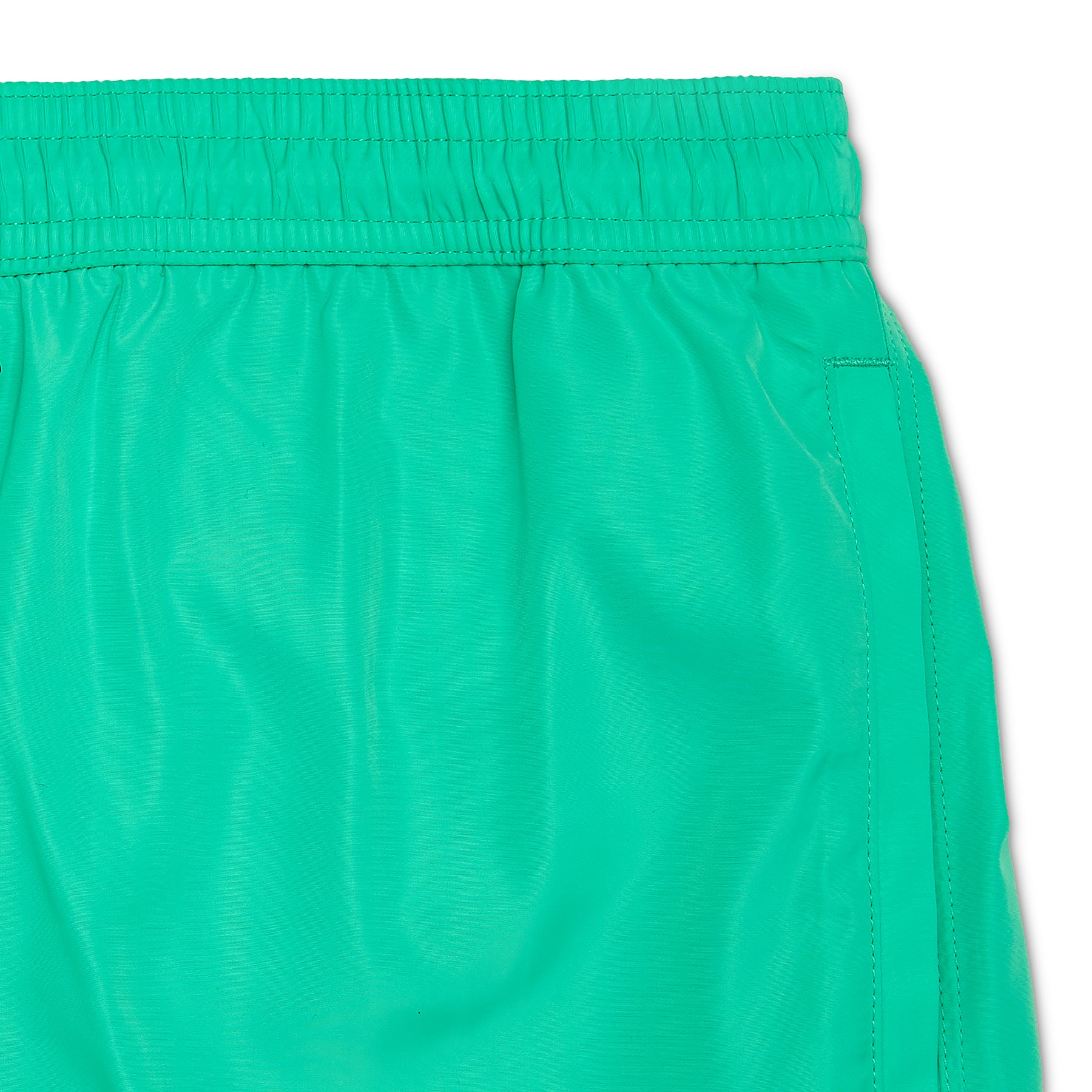 Sea Green Signature Logo Badge Swim Short, Regular Length