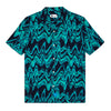 Synth Wave Print Resort Shirt