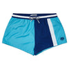 Block Panel Blue Swim Short Blue Shorter Length