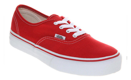 VANS AUTHENTIC RED www.islandstyle.co.nz