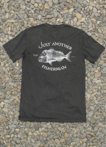 JUST ANOTHER FISHERMAN </BR> <span style='font-size:12px; font-weight:normal;'> Snapper Logo Tee  </span>