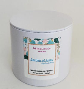 GARDEN OF ARIES SCENTED CANDLES