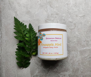 PINEAPPLE MINT WHIPPED BODY POLISH