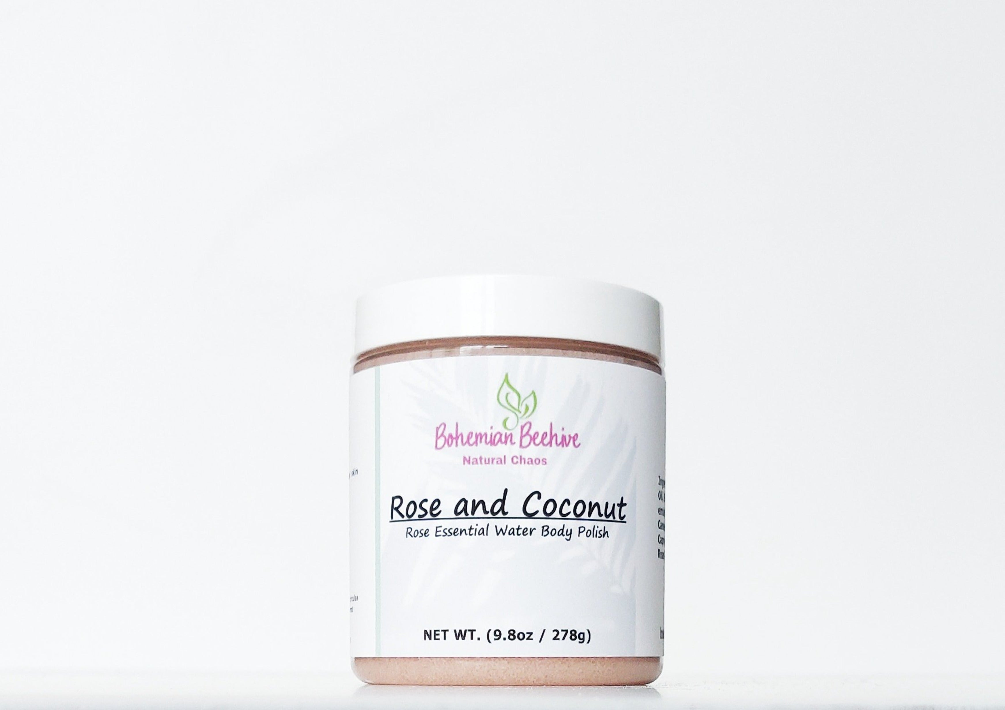 ROSE AND COCONUT BODY POLISH