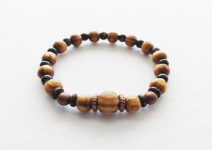NATURAL WOOD BRACELET, TV300