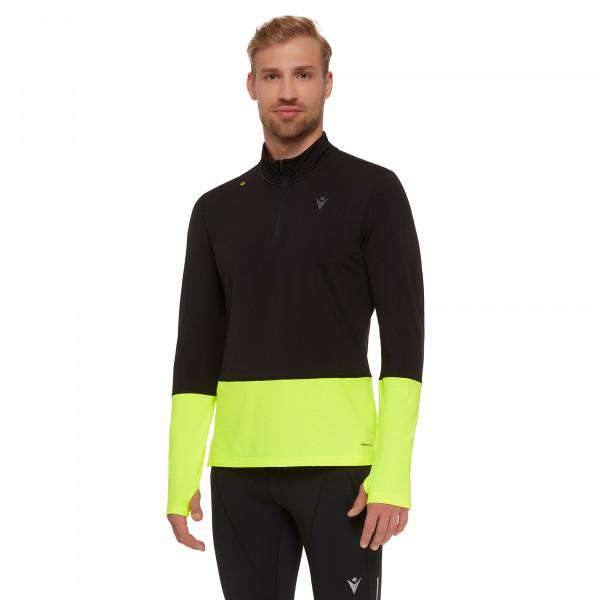 MACRON MAILLOT RUNNING POUR HOMME A MANCHES LONGUES  CLAYTON